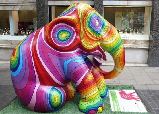 Can I Take This Elephant To The Mardi-Gras?
