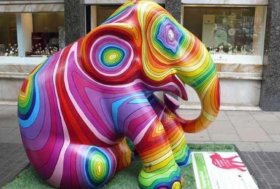 Can I Take This Elephant To TheMardi-Gras?