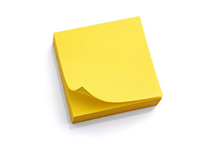 God's Yellow Post-It Notes