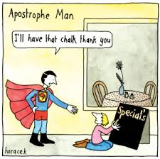 How an apostrophe saved my soul