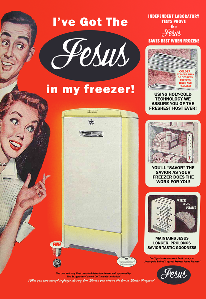 Oops, I left Jesus in the freezer section